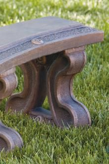 Items available at BF landscape 856-740-1445 www.bflandscape.com ITEM #4825 Garden Furniture, Outdoor Furniture, Outdoor Decor, Concrete Bench, Landscape, Home Decor, Outdoor Garden Furniture, Decoration Home, Room Decor