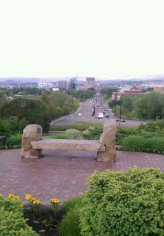 Boise idaho, view from the Depot