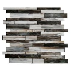 Splashback Tile Matchstix Torrent 10 in. x 11 in. x 8mm Glass Floor and Wall Tile (0.82 sq. ft.)-MATCHSTIX TORRENT GLASS TILE at The Home Depot