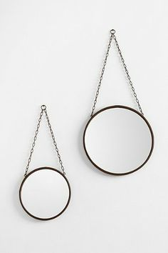 industrial wall mirror.
