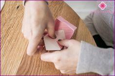 Κουτιά-μπομπονιέρες τεχνική origami