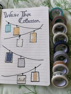 Everyone likes washi tape! I love the boarder ones!