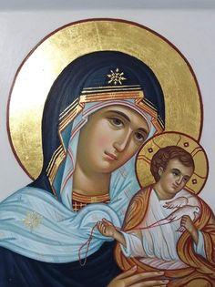 Byzantine Art, Orthodox Icons, Mary, Princess Zelda, Fictional Characters, Mary Jesus Mother, Virgin Mary, Templates