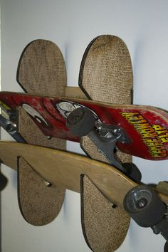 Picture of Laser Cut/Engraved Skateboard Rack