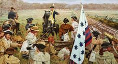Nathanael Greene at the Battle of Guilford Courthouse, NC