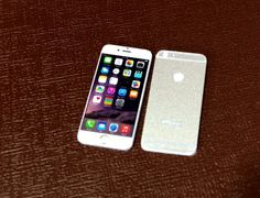 New Silver IPhone 6 Miniature Scale 1:6 for Blythe Barbie Puki Lati Revoltech and similar Dolls.