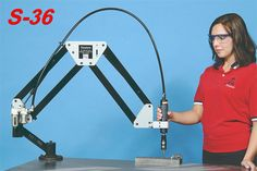 The Flex Machine Tools line includes FlexArm tapping, part manipulator, assembly, die grinder, and helicoil arms as well as FlexCNC and FlexBEAM. Routeur Cnc, Cnc Router, Robotics Projects, Welding Projects, Cnc Manufacturing, Homemade Tools, Diy Tools, Cnc Milling Machine, Dewalt Tools