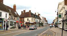 Watling Street (London Road) in Towcester