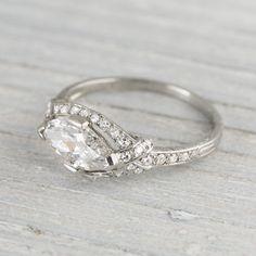Resultado de imagen para anillos con Diamantes Corte marquesa