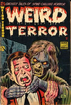 antipahtico: Weird Terror #4 ~ Don Heck