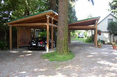Hu Adjacent to Ouse Carport Wooden | back