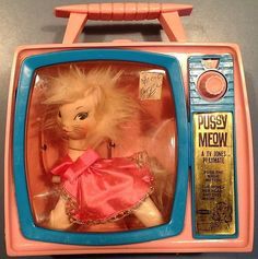 REMCO: 1966 TV Jones Playmate PUSSY MEOW Doll