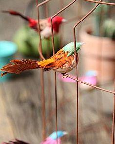 Hanglamp met vogeltjes | pendant light with birds by www.dutchdilight.com