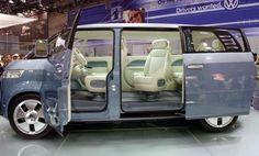 volkswagen microbus getty Volkswagen Microbus on 'Regis and Kelly' includes iPad option