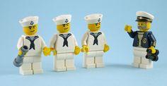 lego minifigure sea captain - Google Search