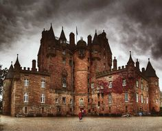 It's a photo of Glamis Castle taken in 2007; I elaborate it with hdr technique and some ps work after it