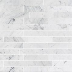 Give your home decor a more distinct look by installing this Splashback Tile Brushed White Carrera Marble Mosaic Tile. Ideal for residential use only. Marble Subway Tiles, Marble Mosaic, Marble Floor, Tile Floor, Carrara Marble Bathroom, Gray Subway Tile Backsplash, Herringbone Backsplash, Wood Floor, Mosaic Tiles