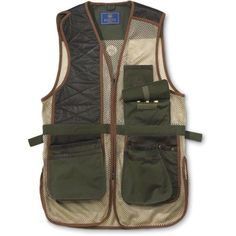 ... Pocket Includes Removable Gel-Tek Recoil Pad Shoulder Slits for Up and  Down Movement Skid-Free Gun Rest Patch Expanding Shell Pockets with Leather  Trim 5e3dacbfec
