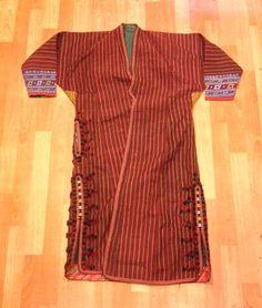 Turkmen Vintage kaftan handmade ethnic kaftan asian kaftan free shipping by Fedex