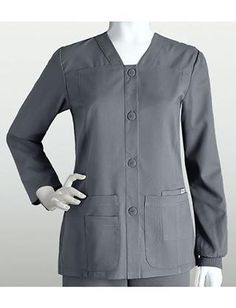 TAFFORD UNIFORMS: Grey's Anatomy Sporty Warmup, Nickel, 5X-Large Buy Now $40.99 Find at Faearch