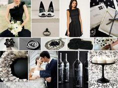 Black & White Theme - Email reception@theeventfirm.ca for a free decor consultation.