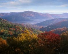 Blue Ridge Parkway : America's Best Fall Foliage Road Trips : TravelChannel.com