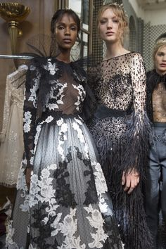 Zuhair Murad Fall 2017 Couture Fashion Show Backstage, Runway, Couture Collections at TheImpression.com - Fashion news, street style, models, backstage