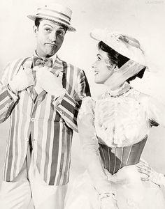 Dick Van Dyke  & Julie Andrews