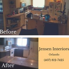 Another happy customer!! Take a look at this new Before and After! #JensenInteriors
