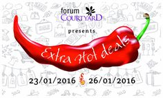 #FORUM #HOTTEST #DEALS #EXCLUSIVE #CURTAINRAISER #TODAY #DEALS #SHOP #SPLURGE #LOVE #SHARE #SPREAD #23RD-#26TH #January #2016 #SHOES #BAGS #CLOTHES #FOOD #ACCESSORIES  #TAG #FORUM #INSTALIKE — celebrating this weekend at Forum Courtyard.