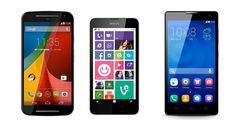 Los 3 mejores smartphones por calidad precio de 2014