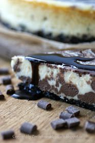Zimtkeks und Apfeltarte: Chocolate Swirl Cheesecake: und MEIN Sonntag ist definitiv gerettet!