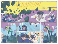 All New Hawkeye #2. Kate calling Noh-Varr for back up