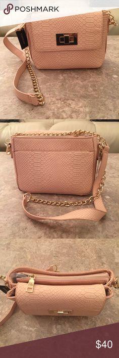 Bebe Shoulder-bag Beautiful colored leather Bebe shoulder-bag. Brand new! bebe Bags Shoulder Bags