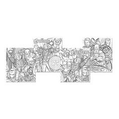 Avengers Party Color Your Own Puzzle $1.99