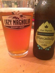 Southern Hops'pitality India Pale Ale  - Lazy Magnolia Brewing Company Review