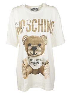MOSCHINO TEDDY T-SHIRT. #moschino #cloth #