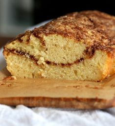 This Vegan Cinnamon Swirl Cake is Easy & Quick. A simple yellow cake, swirled with cinnamon sugar makes for a delightful treat. Vegan Dessert Recipes, Köstliche Desserts, Baking Recipes, Masala Chai, Cinnamon Swirl Cake, Vegan Market, Spiced Coffee, Moist Cakes, Cake Servings