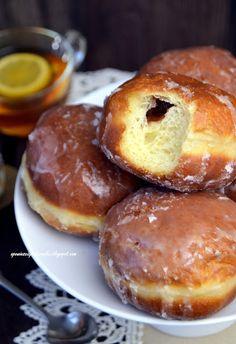 Polish Desserts, Polish Recipes, Holiday Baking, Pretzel Bites, Doughnuts, Baking Recipes, Muffins, Bread, Cookies