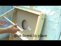 How to make a Corn Hole board DIY - YouTube - Love this idea for games at weddings!