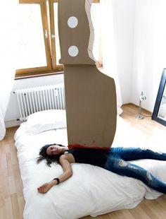 cardboard victim by Maria Lujan