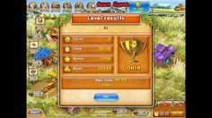 Farm Frenzy 3 Madagascar (level 81) only GOLD Веселая ферма 3 Мадагаскар (Уровень 81) Золото
