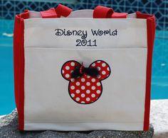 Autograph bag - cool idea. MouseTalesTravel.com