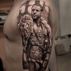 Настя Форман #tattoo #bngtattoo #blackandgrey #movie #portrait #realism…