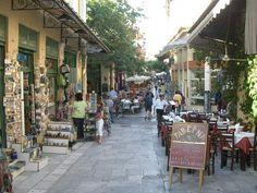 Athènes 24 heures :: La Grèce Autrement La rue Pandrosou