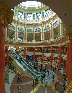 The Trafford Centre in Manchester is one of the largest shopping centres in the United Kingdom