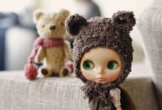 teddy bear blythe!! <3 #blythe #doll
