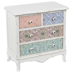 Magnificent wooden #drawer in romantic style by inart! www.inart.com