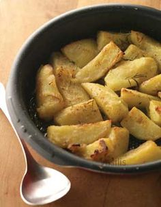 Lemony Greek potatoes - made these a couple times now, YUM!  The wine makes a difference