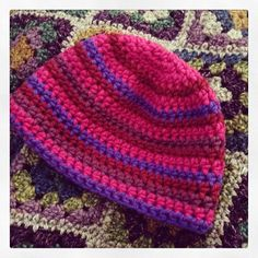 Another #myboshi beanie for my girl. #crochetaddict by Merrily Me, via Flickr